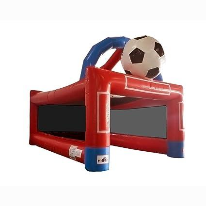 Sunjoy partido de fútbol inflable Objetivo de pelota de playa o en ...