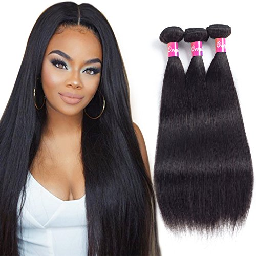 Malaysian Straight Hair 3 Bundles 9A Remy Hair Weave By Orig