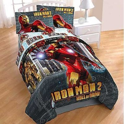 with Iron Man Bedding design