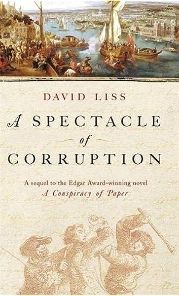 A Spectacle Of Corruption: Amazon.es: Liss, David: Libros en idiomas extranjeros