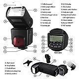 Best Value Professional E-TTL Auto-Focus Dedicated Flash Kit for Nikon D3000, D3100, D3200, D3300, D5000, D5100, D5200, D5300, D5500, D7000, D7100, D7200, D80, D90, D600, D610, D700, D750, D800, D800E, D810, D810A, P7000, P7100.