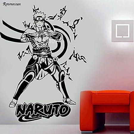 Naruto Anime Manga Tatuajes de Pared de Vinilo Pegatinas de Pared ...