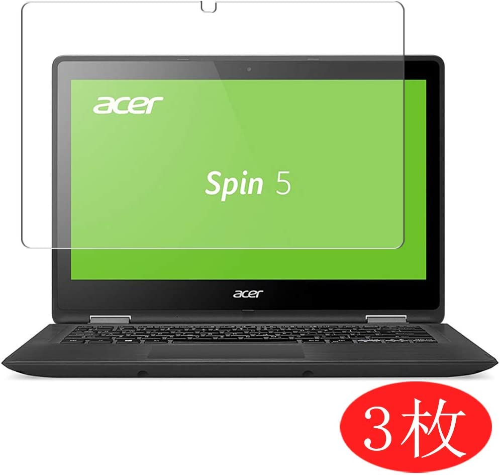 """【3 Pack】 Synvy Screen Protector for Acer Spin 5 SP513-51 13.3"""" TPU Flexible HD Film Protective Protectors [Not Tempered Glass]"""