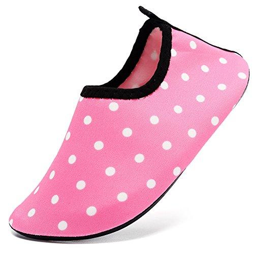 Cior Kvinnor Mens Snabbtorkande Vattensporter Aqua Simning Skor Strumpor 06.pink