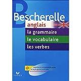 pack bescherelle anglais en 3 volumes la grammaire le vocabulaire les verbes french edition