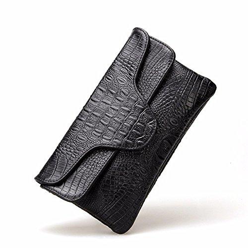 nouvelle de 24 banquet 14cm black la Black le cuir dame sac qPxIR5w15
