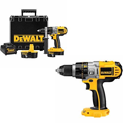 DeWalt DCD940KX 18V 1/2 inch XRP Drill/Driver Kit w/DCD950B 18V Hammerdrill/Driver