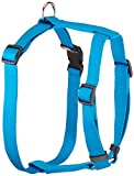 OmniPet Kwik Klip Adjustable Nylon Pet Harness, Hurricane Blue, Large