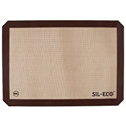 Sil-Eco E-99130 Non-Stick Silicone Baking Liner, Full Sheet Size, 16-1/2\