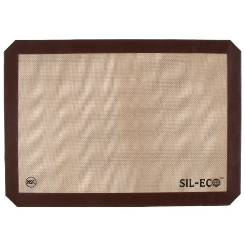 Sil-Eco E-99130 Non-Stick Silicone Baking Liner, Full Sheet Size, 16-1/2 x 24-1/2