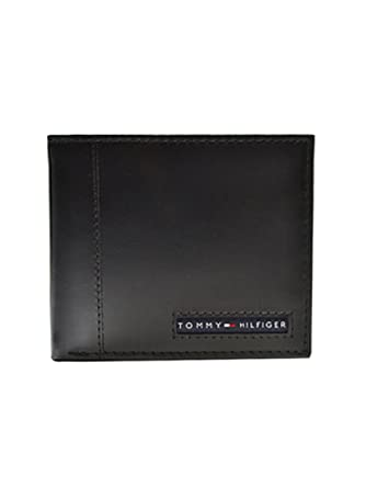 0d879f3f429b (トミーヒルフィガー) TOMMY HILFIGER レザー 本革 二つ折り財布 小銭入れ付き メンズ