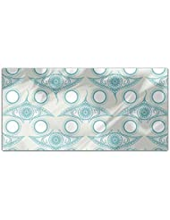 Eye Of The Ocean Rectangle Tablecloth Large Dining Room Kitchen Woven Polyester Custom Print