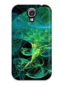 MMZ DIY PHONE CASEAnnie T Crawford Premium Protective Hard Case For Galaxy S4- Nice Design - Nicotine Jellyfish