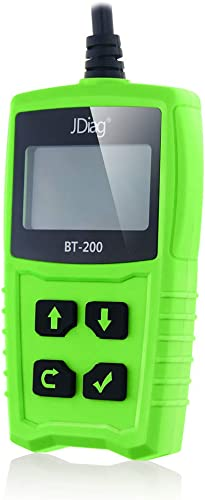 JDiag FasCheck BT-200 is a small battery tester designed for average persons
