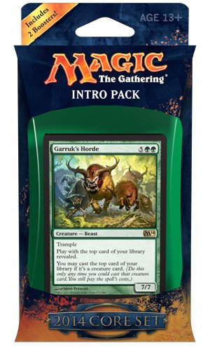 Magic the Gathering M14: MTG: 2014 Core Set Intro Pack: for sale  Delivered anywhere in USA