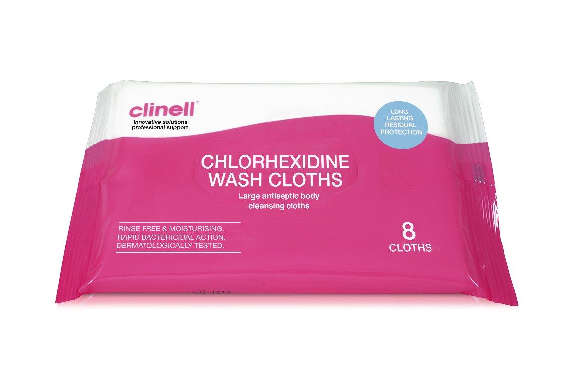 Clinell paños de clorhexidina - Pack de 8: Amazon.es: Industria, empresas y ciencia