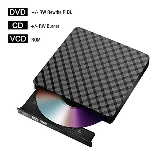 External cd/DVD Drive for Laptop USB 3.0, Portable CD DVD +/-RW Drive Slim DVD/CD ROM Rewriter Burner Writer for Laptop/Macbook/Desktop/MacOS/Windows10/8/7/XP/Vi by Dainty (Image #7)