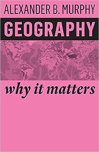 amazon geography why it matters alexander b murphy earth