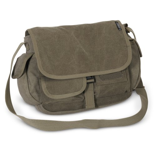 Everest Small Canvas Messenger Bag product image