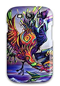 Lovers Gifts Hard Plastic Galaxy S3 Case Back Cover,hot Unknown Case At Perfect Diy 2663722K12126727