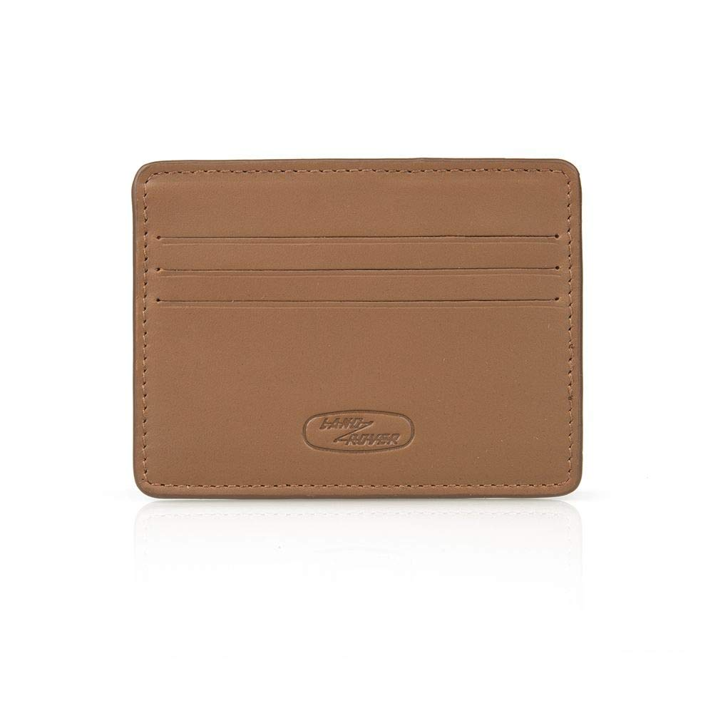L R Land Rover Genuine Merchandise Heritage Brown Leather Card Holder 51LFLG358BNA (2019 Collection) LR