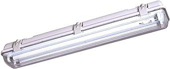 StarLicht Feuchtraum-Wannenleuchte 120cm IP65 2 x 36W G13//T8 5300lm Neutralweiß