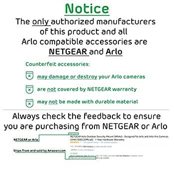 Arlo Pro By Netgear Add-on Security Camera - Add-on Rechargeable Wire-free Hd Camera With Audio, Indooroutdoor (Vmc4030) [Existing Arlo System Required], Works With Alexa 4