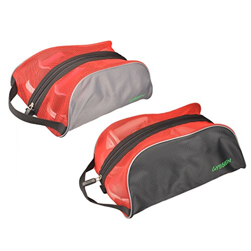 GYSSIEN Travel Shoe Bags for Couples, Breathable Mesh Shoes Storage Pouch by GYSSIEN
