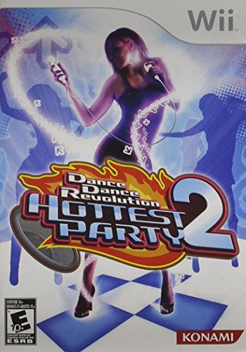 (Dance Dance Revolution Hottest Party 2 - Software Only - Nintendo Wii)