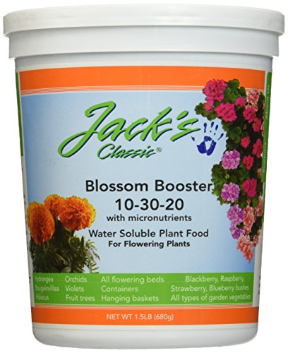 J R Peters Inc 51024 Jacks Classic No.1.5 10-30-20 Blossom Booster Fertilizer ()