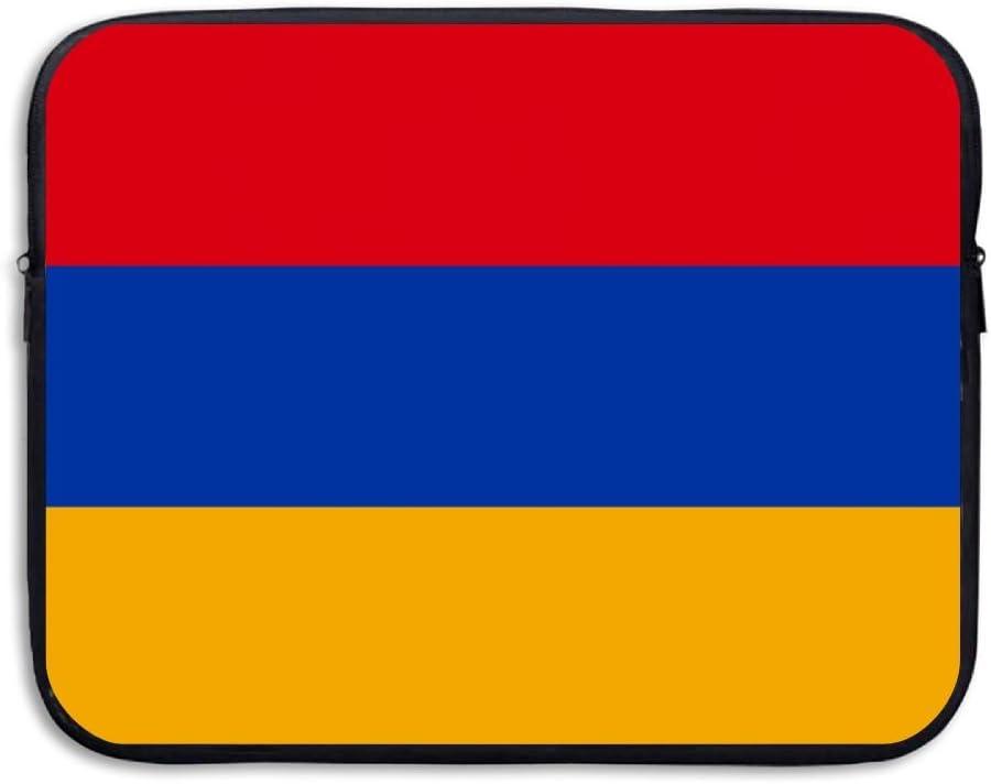 Armenian Flag Sleeve Laptop Bag Tablet Case Handbag Notebook Messenger Bag For Ipad Air Macbook Pro Computer Ultrabook 13-15 Inches