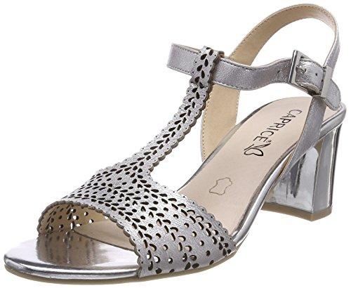 Metal Silver Cinturino alla 920 Sandali Caprice 28301 Caviglia con Argento Donna xzwHnfqFWB