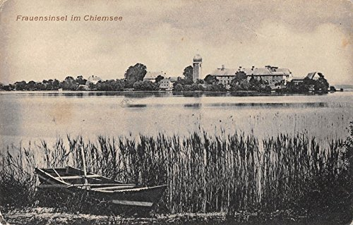 Chiemsee Germany Frauensinsel Scenic View Antique