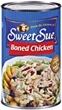 Sweet Sue Chicken Boned, 50-Ounce Packages (Pack of 6)