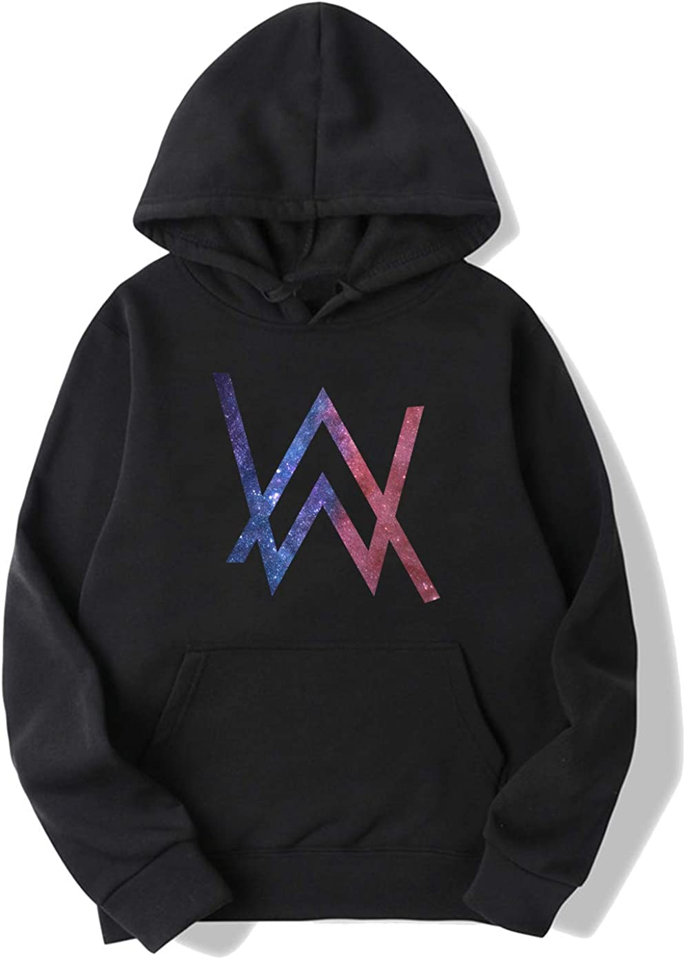 BrilliantLife Alan Walker Space Logo Pullover Hoodie Sweater for Mens