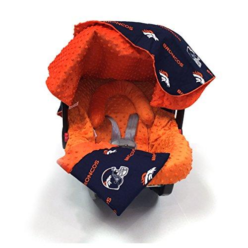 5 Piece Canopy (Baby Fanatic The Whole Caboodle 5 Piece Set, Denver Broncos)