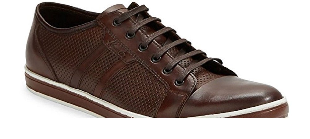 Kenneth Cole Brand-Wagon 2 Low Top Men's Sneaker, Brown - 11
