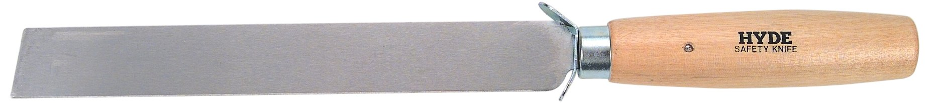 Hyde Tools 60810 8-Inch 14-Gauge Square-Point Safety Knife