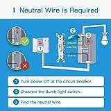meross Smart Dimmer Switch Single Pole Supports