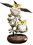 Alpine MAZ238 Tiering Owl Fountain, 31''