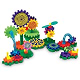 Learning Resources Gears! Gears! Gears! Gizmos Building Set, Construction Toy, STEM Learning Toy, Puzzle, 83 Pieces, Easter Gift for Kids, Easter Toys, Ages 3+