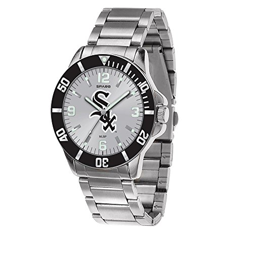 Gifts Watches MLB Chicago White Sox Key Watch by Rico - Chicago White Cufflinks Sox