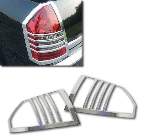 MaxMate Fits 05-07 Chrysler 300//300C Chrome Taillight Cover