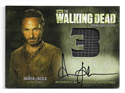 2014 The Walking Dead Season 3 Part 2 ANDREW LINCOLN as Rick Grimes Autograph Wardrobe AM9