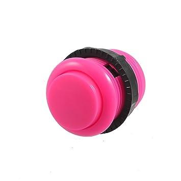 Consolas de PCB 2 pin de soldadura rosa 24 mm Diámetro pulsador: Amazon.es: Bricolaje y herramientas