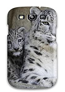 Caitlin J. Ritchie's Shop Christmas Gifts Forever Collectibles Snow Leopard Pictures Hard Snap-on Galaxy S3 Case 3351235K80882519