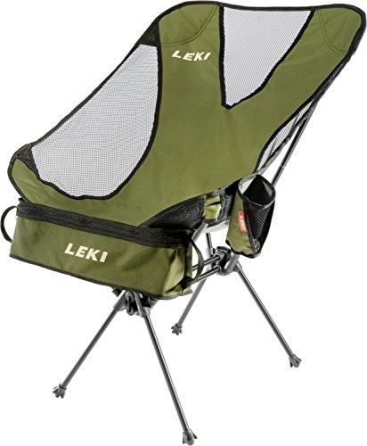 LEKI Chiller Folding Chair - Olive by Leki