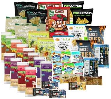 UPC 852665443612, Gluten Free Healthy Snack Box: 40 Pack