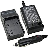 Battery Charger for Canon VIXIA HF M40, HF M41, HF M400 Flash Memory Camcorder