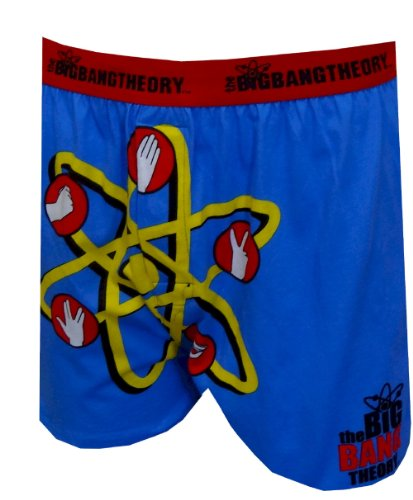 Big Bang Theory Rock Paper Scissors Boxers